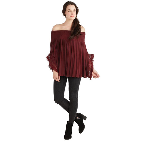 Pinot Kristin Off-The-Shoulder Top