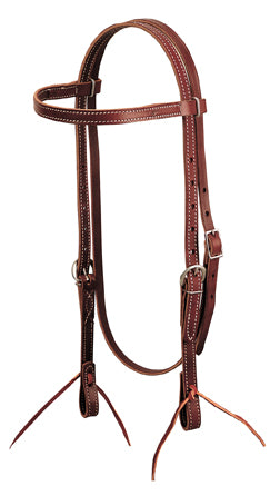 Weaver Leather Latigo Leather Browband Headstall