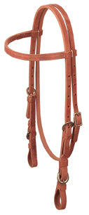 ProTack® Quick Change Browband Headstall, Buckle Bit Ends