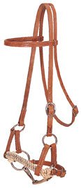 Harness Leather Half Breed, Double Rope