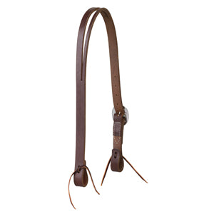 "Working Cowboy Split Ear Headstall, 1"", Stainless Steel"