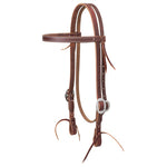 "Working Cowboy Economy Browband Headstall, 3/4"", Stainless Steel"