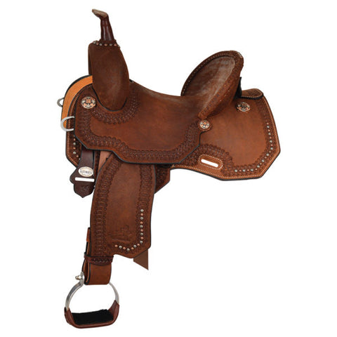 Josey Ultimate Cash Outlaw Barrel Saddle  - 1145