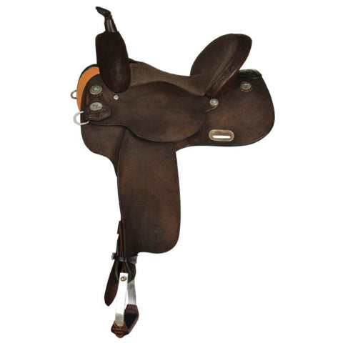 Kelly Kaminski New Frontier Barrel Saddle 1506