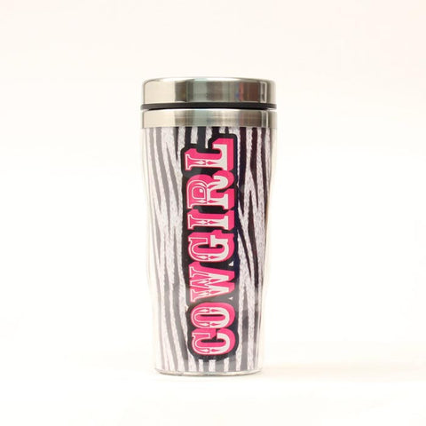 Insulated Stainless Steel Mug - Cowgirl