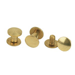 Chicago Screw Handy Pack, Plain Solid Brass