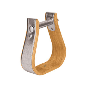 "Wooden Stirrups, Ladies/Youth, 2"" Tread"