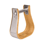 "Wooden Stirrups, Visalia, 3"" Tread"