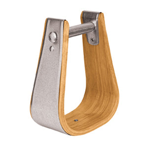 "Wooden Stirrups, Deep Roper, 2"" Tread"