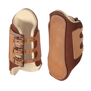 Leather Splint Boots, Medium