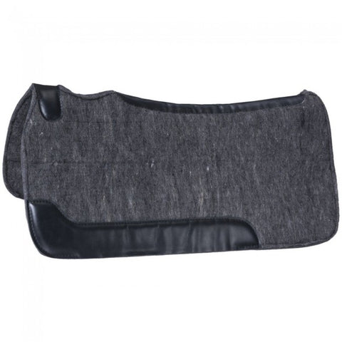 "Tough1® Contour 3/4"" Felt Saddle Pad - 19"" x 19"""