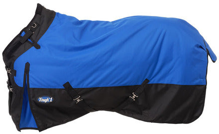 Tough-1 1200D Waterproof Poly Snuggit Turnout Blanket - Royal Blue
