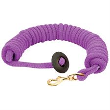 Rounded Cotton Lunge Line  - Purple