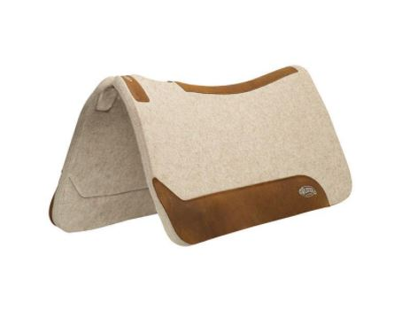 "Contoured Wool Blend Felt Saddle Pad - 30""x30"""