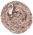 Multi-Colored Cotton Lead Rope with Nickel Plated Bull Snap