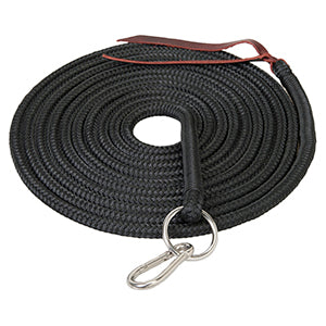 "Silvertip Lunge Line, 1/2"" x 22', Ring and Snap"