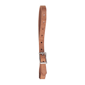 Harness Leather Replacement Uptug w Nickel Plated HDW