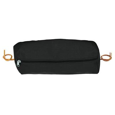 Weaver Rectangular Nylon Cantle Bag, Large - 15-0142