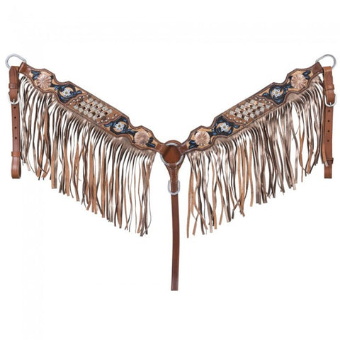 Savannah Collection Breast Collar w/Fringe