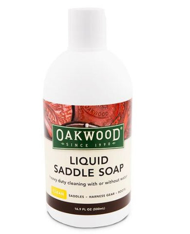 Oakwood Liquid Saddle Soap 16.9 oz.