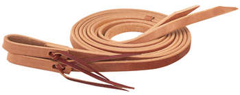 "Single-Ply Heavy Harness Split Reins, 1/2"" x 7'"