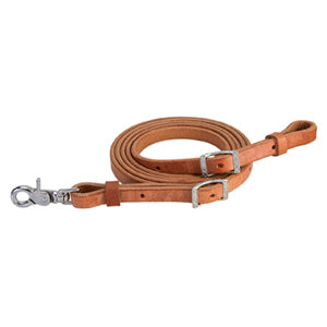 "Harness Leather Roper Rein, 5/8"" x 8'"