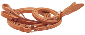 "Harness Leather Romal Reins, 5/8"" x 8'"