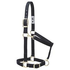 "Weaver Basic Adjustable Chin and Throat Snap Halter, 1"" Average Horse or Yearling Draft 35-7435"