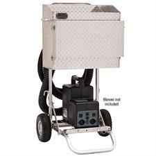 Deluxe Blower Cart with Showbox
