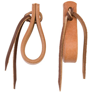 Water Tie Ends with Brown Latigo Ties, 5/8""