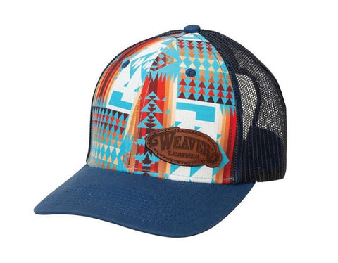 Weaver Leather Aztec Summer Light Mesh Cap