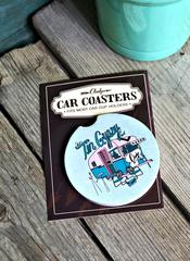 Tin Gypsy Car Coaster