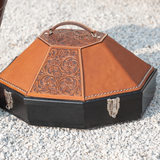 Martin Saddlery Hat Can - Tooled