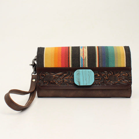 Angel Ranch Clutch Serape Collection Multi Color D330000797