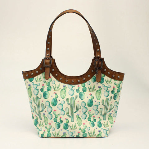 Angel Ranch Tote Concealed Weapon Cactus Collection Brown D330001502