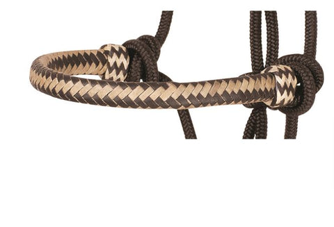 Braided Rawhide Rope Halter by Classic Equine