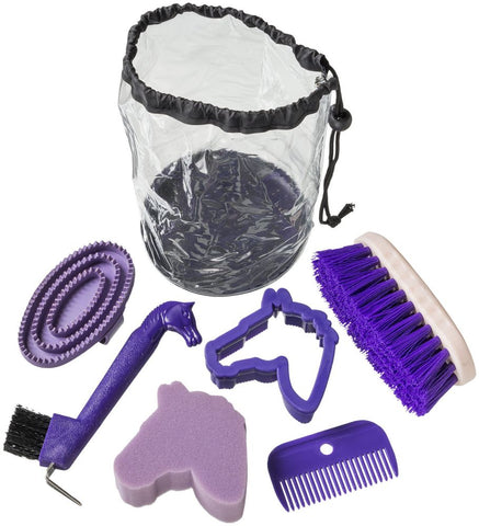 6 Piece Jr Grooming Kit - Purple