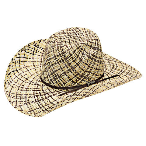 Twister Twisted Weave Hat Ivory/Tan/Brown T73673