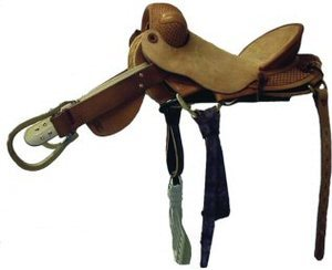 Saddle Barn - Bronc Saddle Roughout - 10-51
