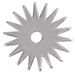 "Weaver 18 Point Replacement Rowel, Stainless Steel, 1-1/4"" 25-9036"