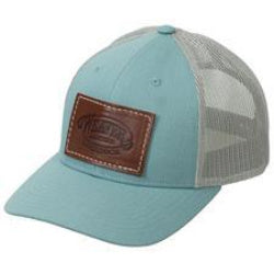 Mesh Back Cap with Leather Patch, Ladies' Fit