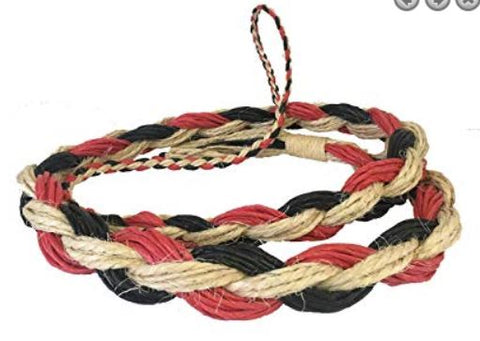 Rodeo Hard Saddle Bronc Reins - Adult