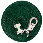 Poly Lead Rope with Nickel Plated Bull Snap