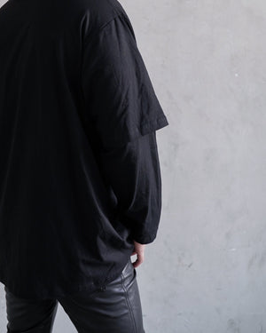 "Heavy Metal Black ""Double Layered Long Sleeve"""