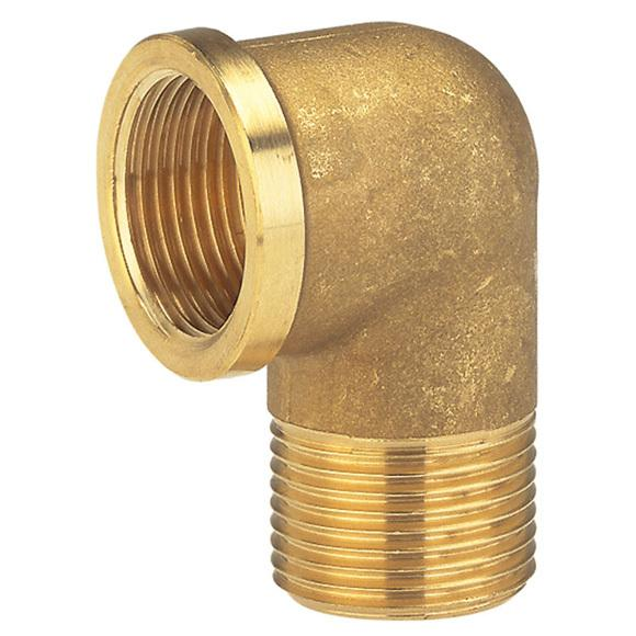 Brass Elbow MF 3mm - PlumbersHQ