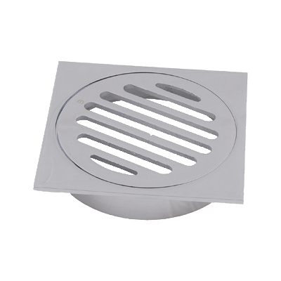100mm Drop In Pvc Trapscrew Grate Round Brass/Chrome - PlumbersHQ