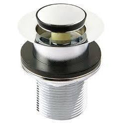 Pop Up Waste 32mm (NO OVERFLOW) CHROME - PlumbersHQ