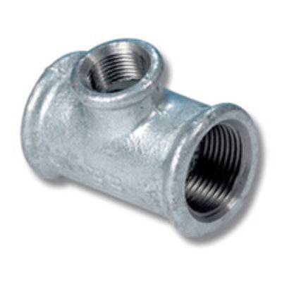 Gal Reducing Tee 20mm x 12mm x 12mm (Centre) - PlumbersHQ