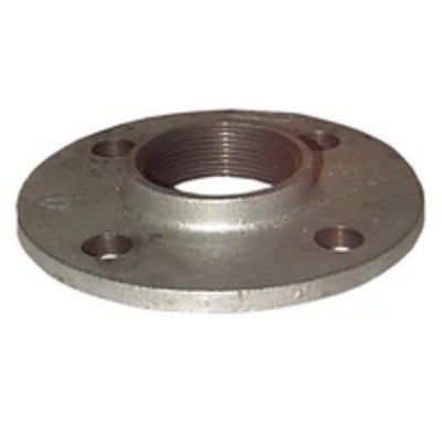Gal Drilled Flange 100mm - PlumbersHQ