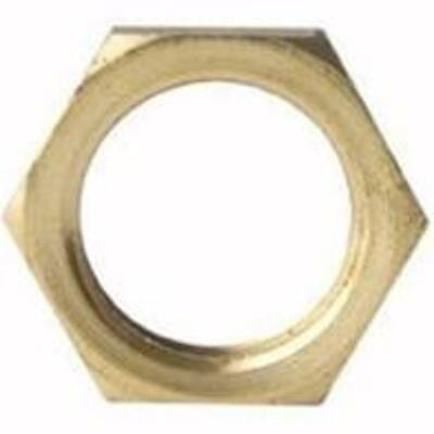 Brass Locknut 50mm - PlumbersHQ